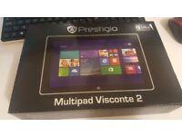 """Prestigio Visconte 2 10.1"""" Tablet 32gb Intel 2.0ghz , 2gb Ram ,Win 8"""