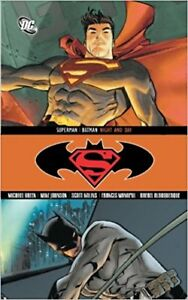 Superman Batman Night and Day Hardcover