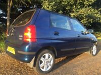 Suzuki Alto 5door 1litre Petrol. £30 a year tax. MOT until May 2018
