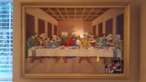 """""""The Last Supper"""" Large Framed Photo"""