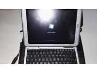 Tc1100. Tablet with keyboard.