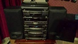 Kenwood HiFi system in original boxes