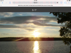 CANCELLATION  LAKE FRONT COTTAGE $550.00 AUGUST 14-20 EAST DALHO