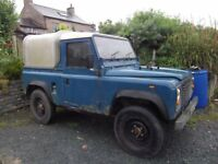 LAND ROVER 90 200TDi 1986 (D)