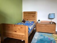 AMAZING John Lewis Malmo Cot Bed, Wardrobe, Chest and Drawers Furniture Set
