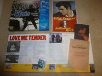 ELVIS TREASURES - BOOK, AUDIO CD, REMOVABLE DOCS. ETC.