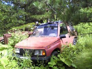 1990 Suzuki Sidekick VUS