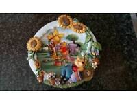 Sweet dreams grow with friends collector plate
