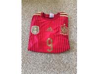 Selection of replica football tops