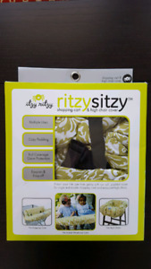 Ritzy Sitzy Cart & High Chair Cover (New)