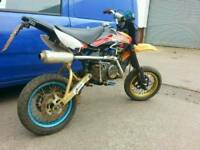 Road Legal/Registered Pit Bike not moped scooter 50cc sx sm enduro cbt field bike off road motocross