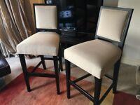 Mitchell Gold & Bob Williams Upholstered Bar Stools