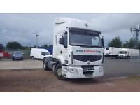2007-56 plate renault premium privilege 440-18 double sleeper 4x2 tractor long test plus vat
