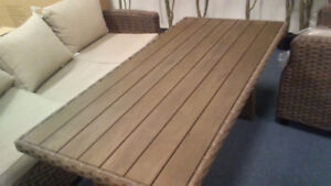 Outdoor patio table new 200.00