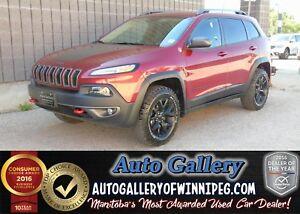 2015 Jeep Cherokee Trailhawk 4x4 *Nav