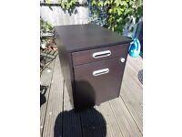 Ikea Galant Filing Cabinet, Black Brown, RRP £120