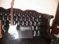 C GIANT GUITAR AND MATCHING AMPLIFIER NEW