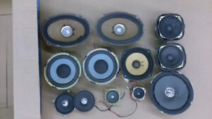 "Various speakers incl 12"", 120W woofers"