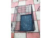Medium Cage Crate black