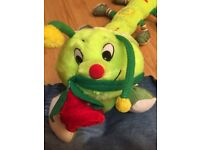 "BRAND NEW CATERPILLAR - ADORABLE SOFT TOY WITH ""LOVE YOU"" EMBROIDERED ON IT"