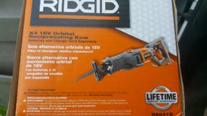 Ridgid Orbital Reciprocaring Saw