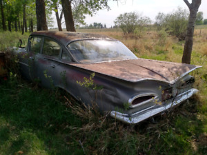 Selling 1959 Chevrolet Biscayne body