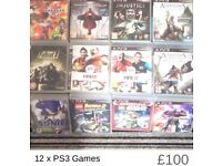 Bundle of PS3 Games