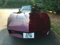 1981 CORVETTE STINGRAY C3 TARGA TOP 5.7 PETROL AUTOMATIC L.H.D AMERICAN MUSCLE