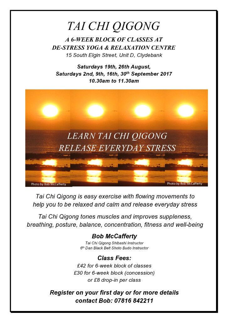 TAI CHI QIGONG CLASSES