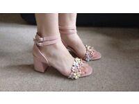 Fancy, beautiful women sandals, size 5,RRP £35