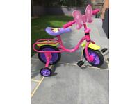 Girls Disney Minnie Mouse first bike (2-3years old)