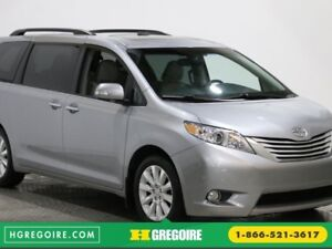 2013 Toyota Sienna XLE AWD CUIR TOIT NAV MAGS 7 PASSAGERS
