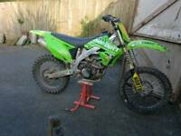 Kxf 450 efi swaps or cash