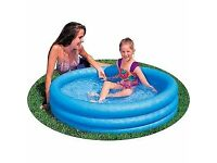 Brand new kids Outdoor Garden Three Ring Pool