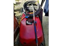 Hot and cold power washer