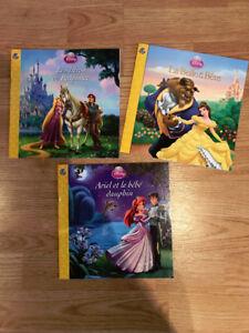 Lot de 3 livres Disney