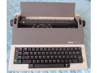 Brother electric typewriter AX-10
