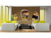 Mural WallPaper WallPhoto 3D EFFECT Brand new 208cm x 145 cm