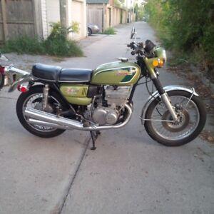 1974 Suzuki Gt550, certified