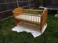 Used Cot Bed in good condition
