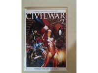 Civil War comic # 2 Michael Turner Variant