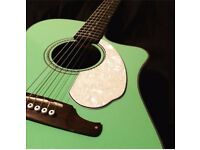 Fender Sonoran SCE Surf Green Electric Guitar for sale.