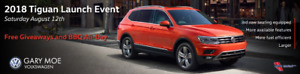 ALL NEW 2018 Volkswagen Tiguan ! Available 5 or 7 Seater