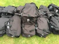 Adidas kit bags and cold weather kit