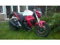 Sports Learner Legal Motorbike WK SP125N