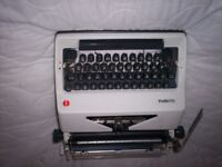 Old fashioned Olympia typewriter