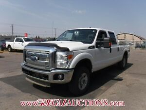2012 FORD F250 SD XLT SUPERCREW 4WD XLT