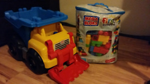 Jouets mega blocks, set musical parents
