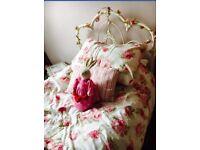 Laura Ashley ivory Somerset single bed