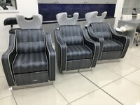Back Wash Chairs £2500 Each Chair. (Pietranera 522B.G1 Wen Otima Air)